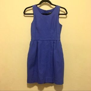 J. Crew Outlet Cotton Fit & Flare Sleeveless Dress